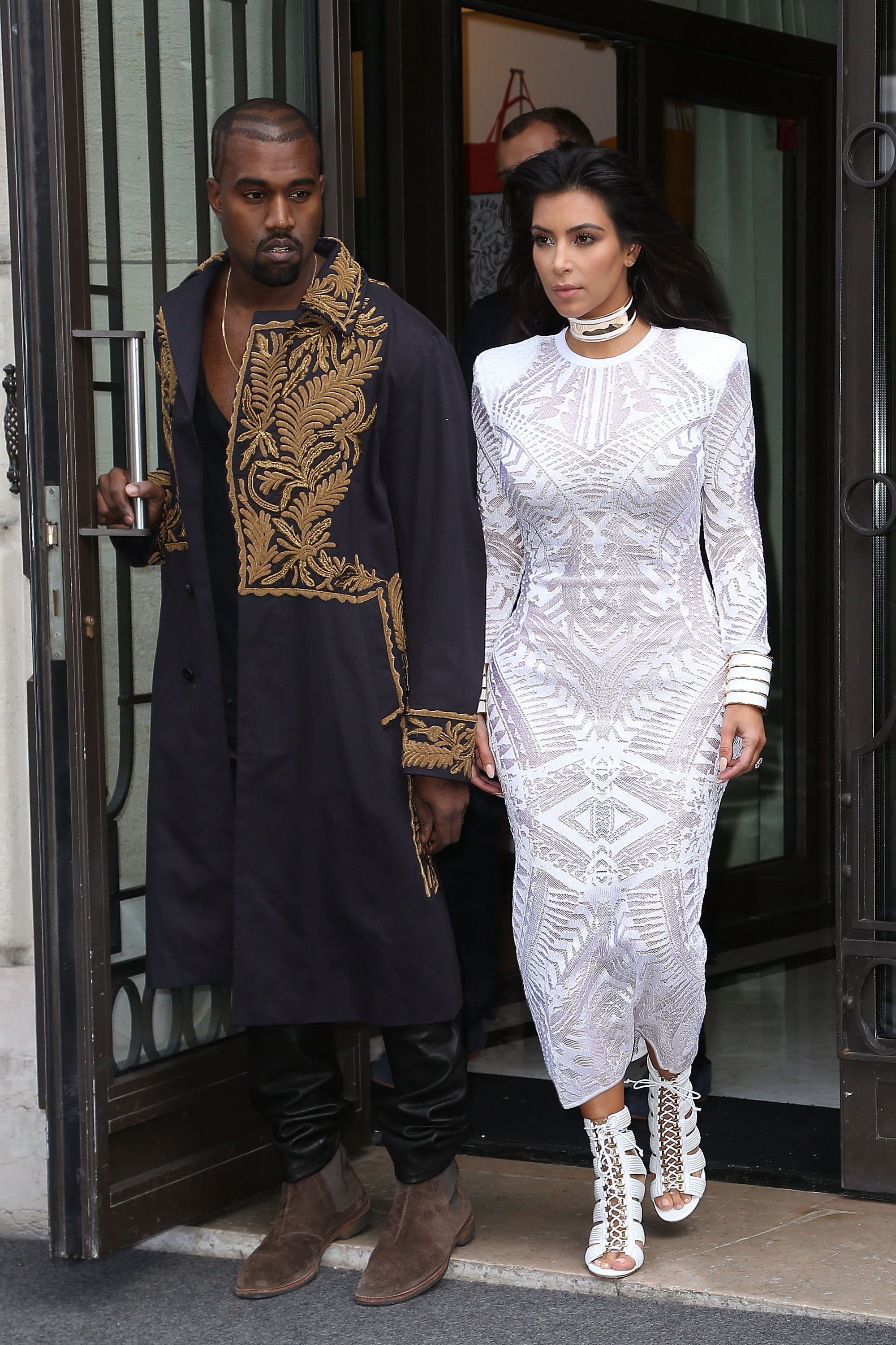 Kim Kardashian 35 And Kanye West 38 The 1 Designer Who Makes Stars Feel Sexy At Every Single Age Popsugar Fashion Photo 20