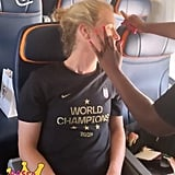 US Women's Soccer Team ESPY Awards Hair and Makeup