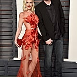 Red-Hot Gwen Stefani Smiles Big With Blake Shelton at an Oscars Afterparty