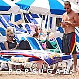 Gwen Stefani and Gavin Rossdale in the South of France