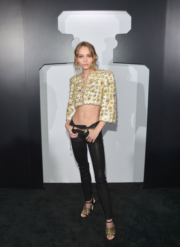 Lily-Rose Depp's Chanel Look, 2016