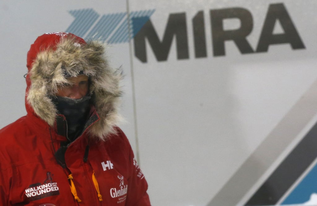 Prince Harry Gives the Cold Chamber a Go For His South Pole Stint