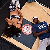 Olympic Athlete Engagement PIctures