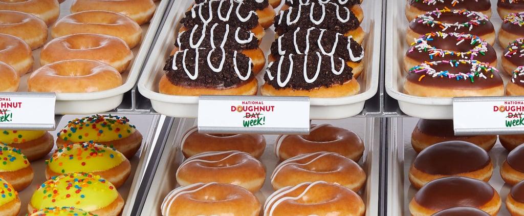 How to Get Free Krispy Kreme During National Doughnut Week