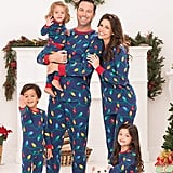 PajamaGram Christmas Lights Matching Pajamas