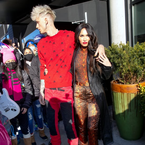Megan Fox Praises Machine Gun Kelly's SNL Performance