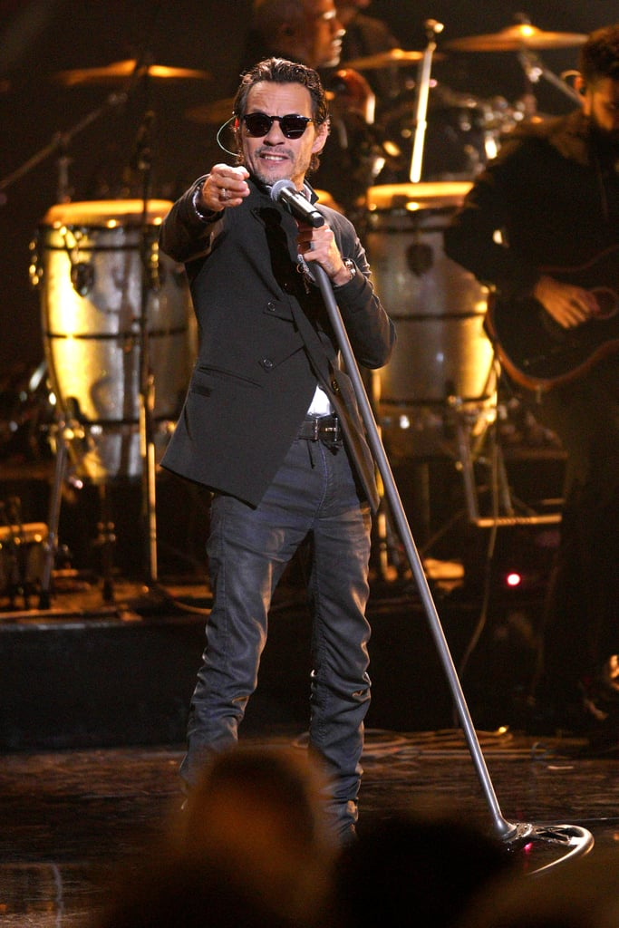 Marc Anthony at the Latin AMAs