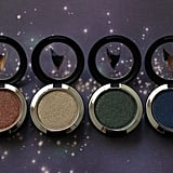 Pressed Pigmented Eye Shadows in To Boldly Go, The Naked Time, Bird of Prey, and Midnight ($23 each)