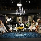 """The reunion special actually ended on quite a sweet note (we don't really know how they got there and assume a lot of it was edited out), with host Alex saying, """"I don't drink, but I actually may right now."""" And with that, The Real Housewives of Melbourne came to an end for 2014 — don't forget it's coming back in 2015! If you have experienced any kind of online bullying, contact the National Centre Against Bullying, or if you'd like to talk to someone, call Lifeline on 13 11 14. Source: Martin Philbey / Foxtel"""