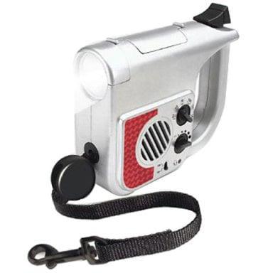 Retractable Leash, Light, and Radio