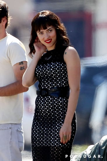 Scarlett-Johansson-wore-dark-wig-set-her-new-film-Chef