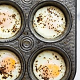 Muffin Tin Eggs in the Oven