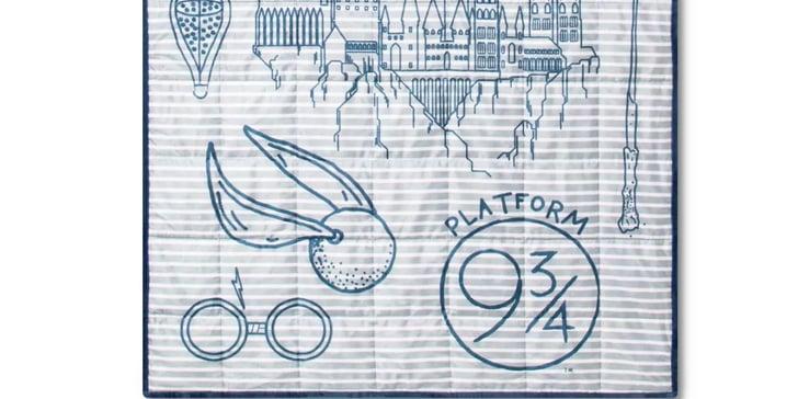 Harry Potter Weighted Blanket At Target Popsugar Family