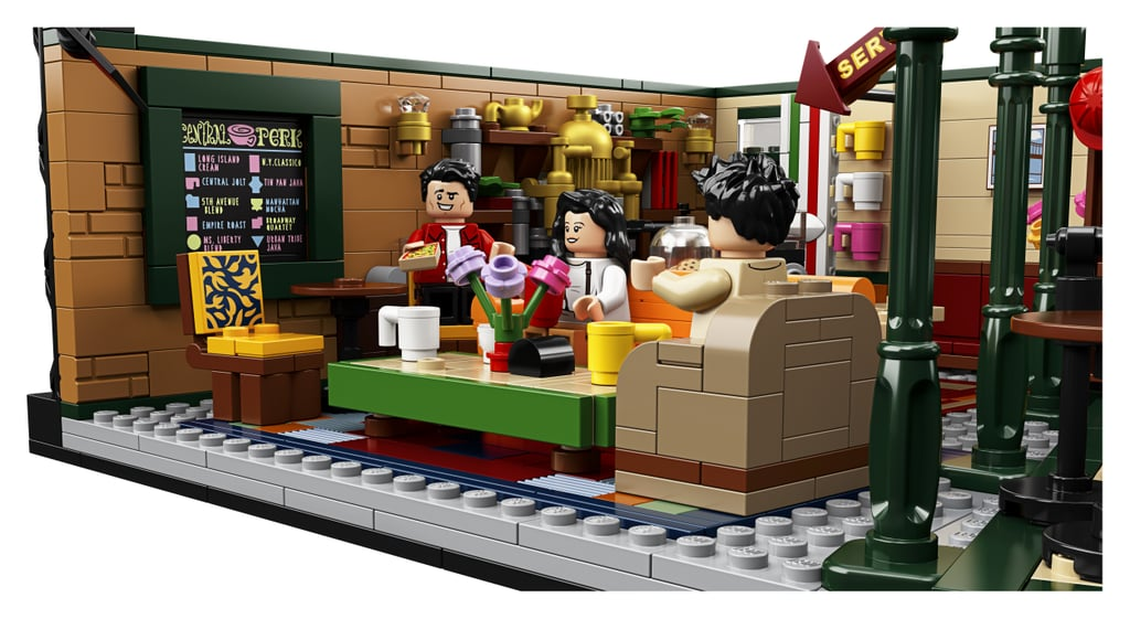 The Friends Central Perk Lego Set From the Side