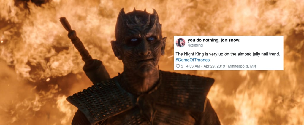 Twitter Reactions About Game of Thrones Night King Nails