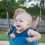 Push both babies in a swing at once.
