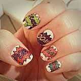 Rock geeky nail wraps