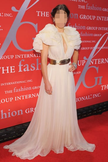 Which Actress Wore a Dress With Billowing Sleeves?