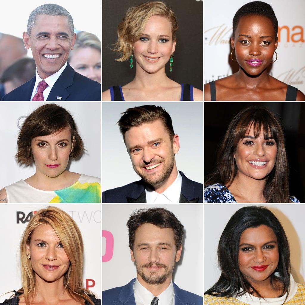 Celebrities' Favourite TV Shows