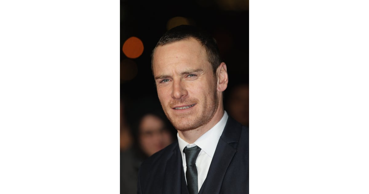 Michael Fassbender stuck a stoic pose on the red carpet ...