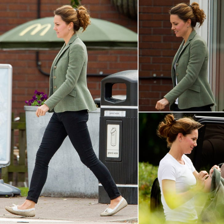 Kate Middleton Makes a Roadside Stop at McDonald's!