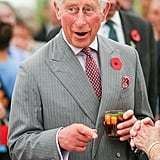 When Prince Charles Enjoyed a Drink During a Visit to New Zealand