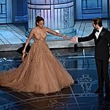 Jennifer Lopez and Chris Pine