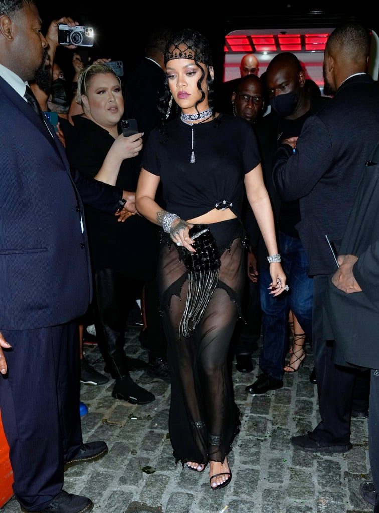 Rihanna at the 2021 Met Gala After Party