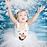 If you get jealous of your daughter's adorable Olaf Costume ($48), remember that it comes in adult sizes, too!