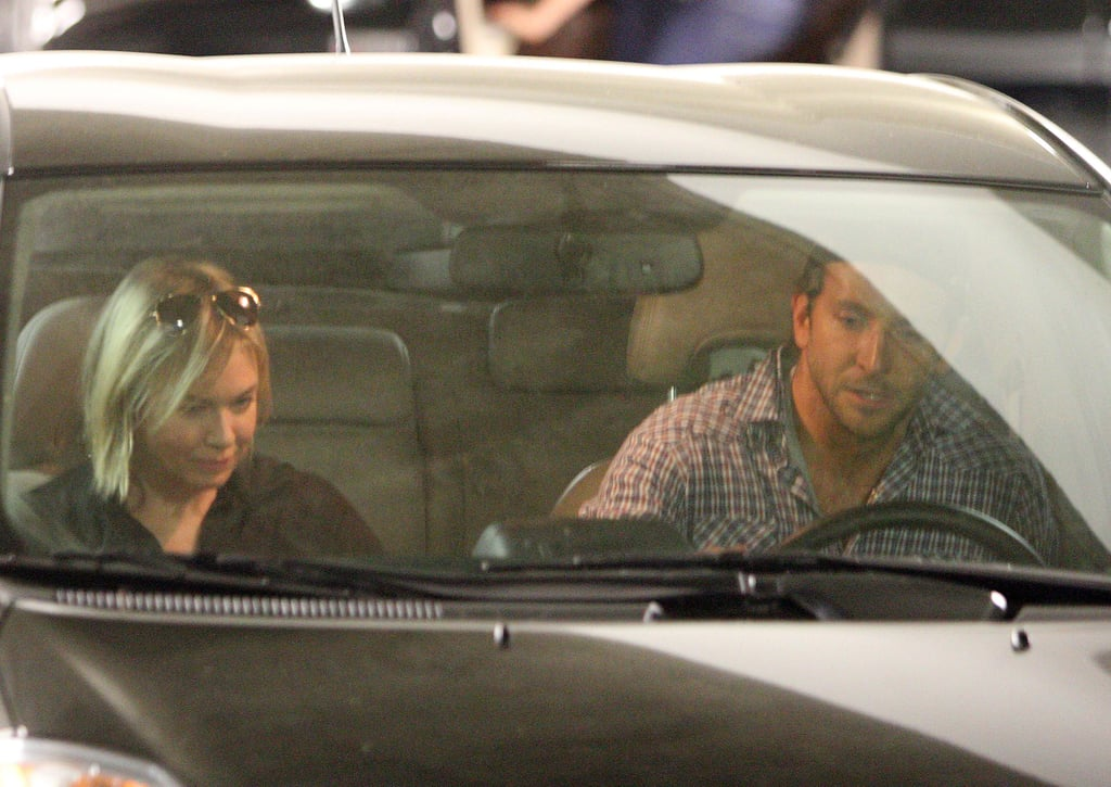 Photos of Bradley Cooper and Renee Zellweger Out in Hollywood