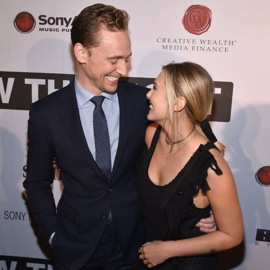 Elizabeth Olsen Tom Hiddleston Red Carpet October 2015