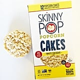 Skinny Pop Popcorn Cakes in White Cheddar