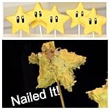 Super Mario Bros. Stars Cake Pops