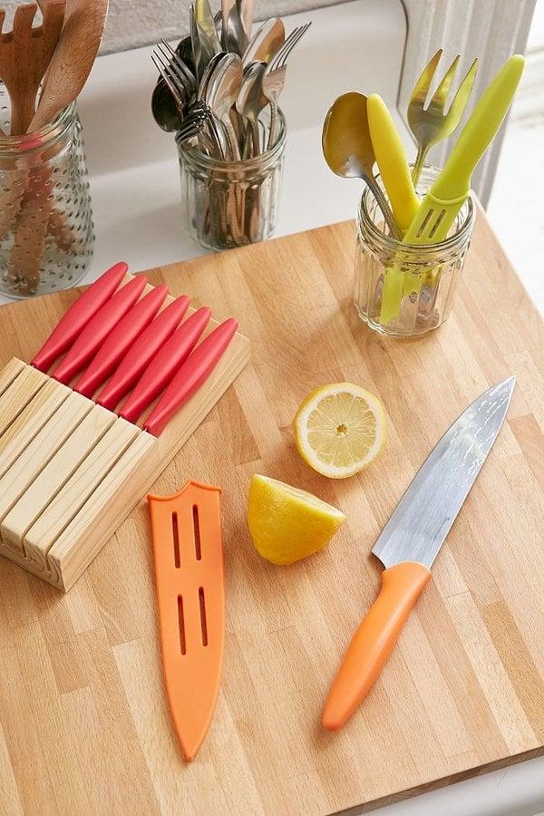 36-Piece Kitchen Cutlery Set