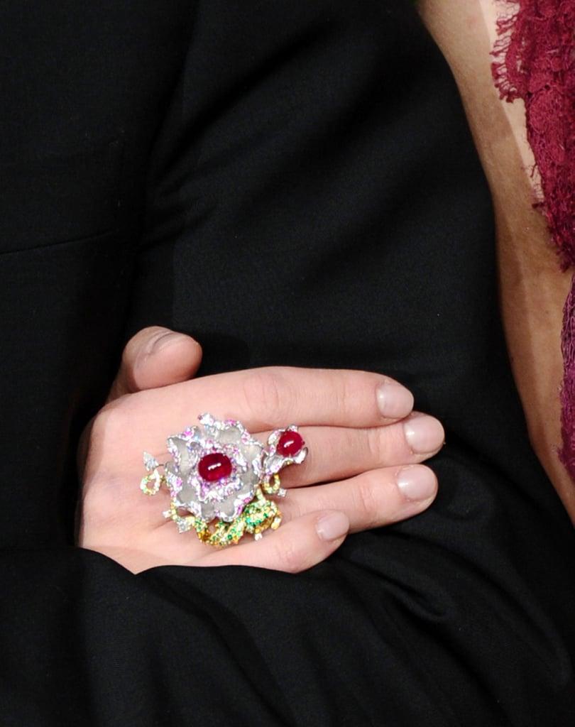 Scarlett Johansson's Anna Hu Ring in 2011