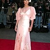 Jennifer Lopez at the 2002 Enough Premiere