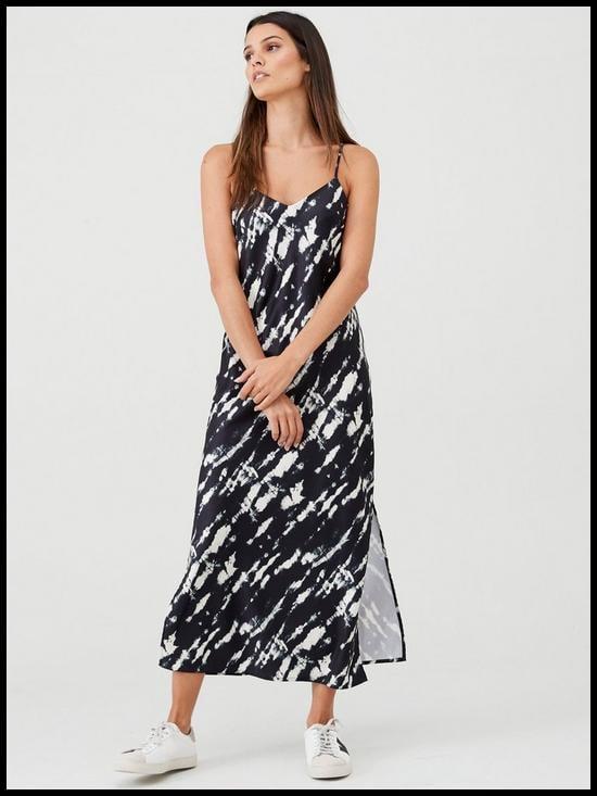 V by Very Bias Cut Slip Cami Dress