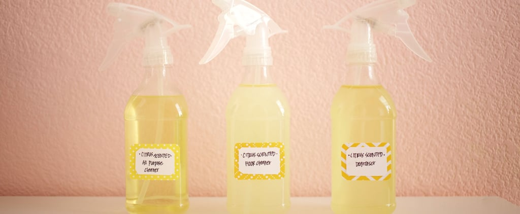 DIY Eco Citrus Cleaners