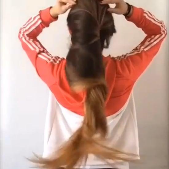 Bun Drop Hair Trend (Video)