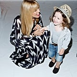 Rachel Zoe brought her son, Skyler, to her fashion show during New York Fashion Week in September.