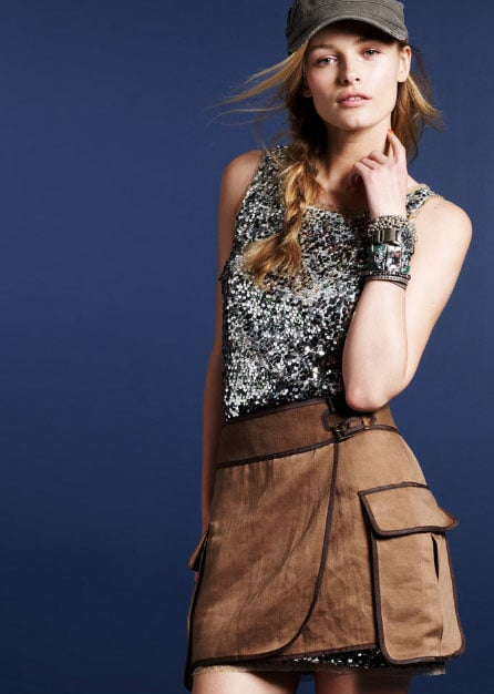 Invest: Sequin Fête Dress ($275)  Why: Now this is the kind of sequin investment I would put my money behind. It's shimmery perfection, and it's totally versatile; style it just they way they do here with a mini thrown over the bottom-half, or top it off with a sweater or tee to tone it down.