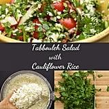 Keto Tabbouleh Salad With Cauliflower Rice