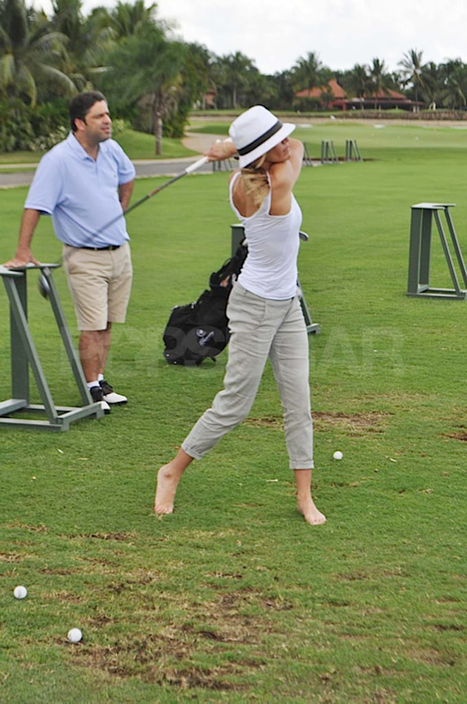 Cameron Diaz Goes Barefoot For a Swinging Good Time With Alex Rodriguez