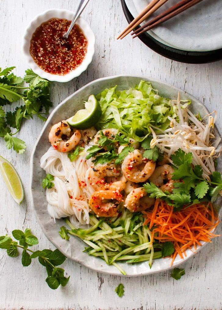 Vietnamese Garlic Shrimp Noodle Salad