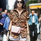 Show Off Your Wild Side in an Animal-Print Shirt