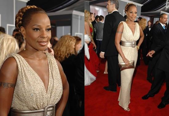 The Grammys Red Carpet: Mary J. Blige