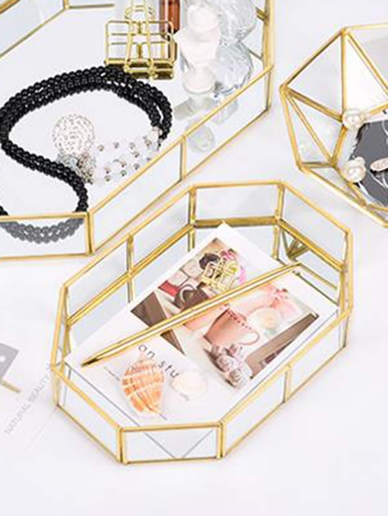 Polygon Design Jewelry Storage Tray