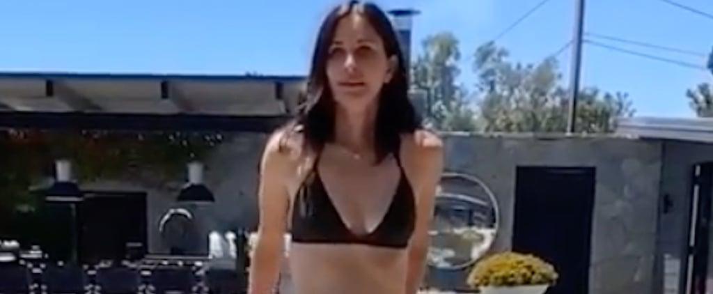 Courteney Cox Bikini Instagram Video July 2019