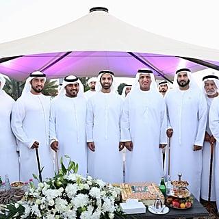 زفاف سمو الشيخ محمد بن سعود بن صقر القاسمي ضمن عرس جماعي