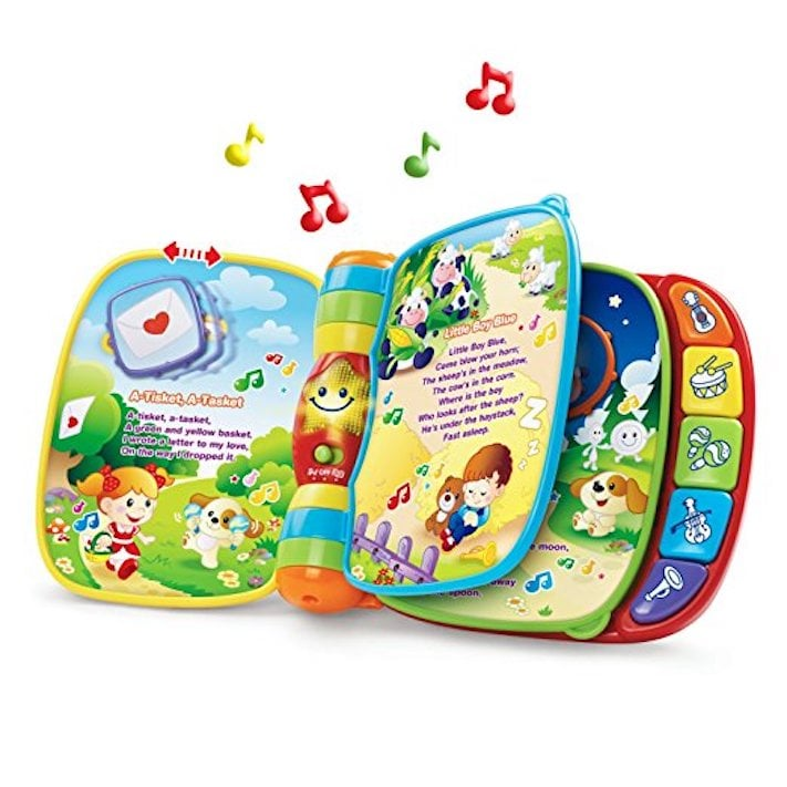 For 1-Year-Olds: VTech Musical Rhymes Book